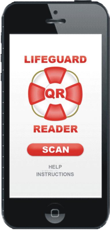 LG QR MED Reader